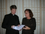 Innsetning djákna og aðalfundur safnaðarins 2006
